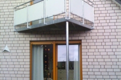 komplette Balkone aus Metall